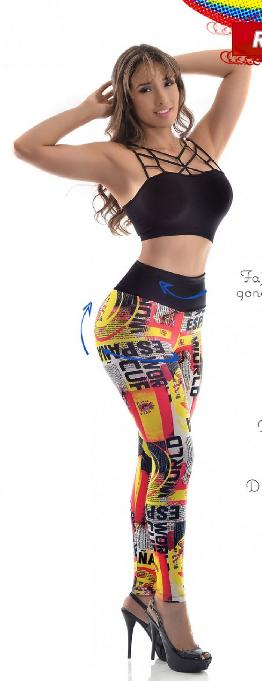 Leggings Reductor Levantacola