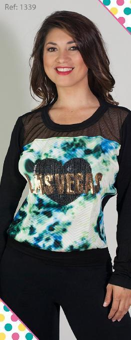 Blusa Corta Femenina