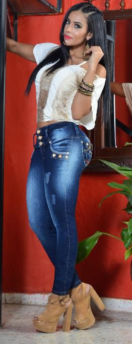 JEANS COLOMBIANO LEVANTACOLA