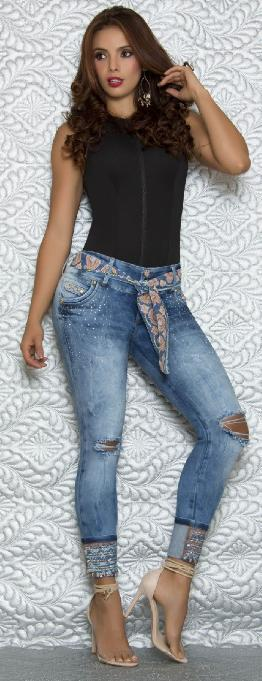 Pantalon Levantacola Colombiano