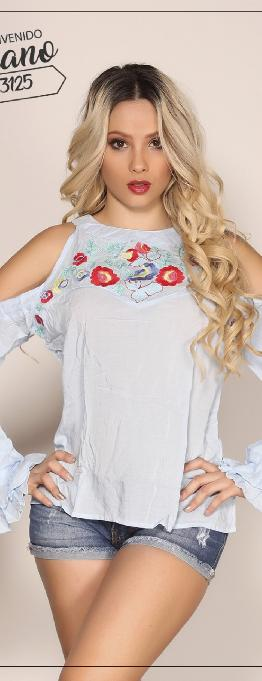 Blusa Dama Colombiana