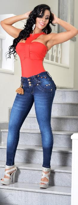 Jean sexy levantacola