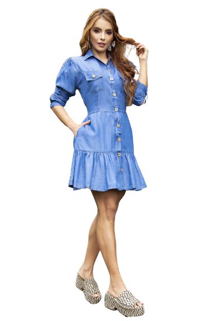 Vestido en Jean