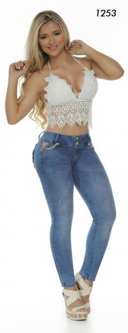 Jeans Levantacola Colombiano Fragolas