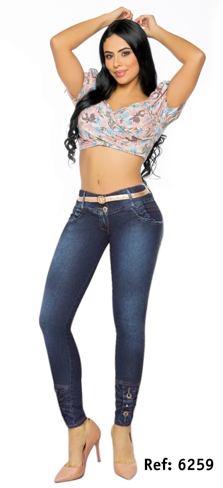 COLOMBIAN PUSH UP JEAN