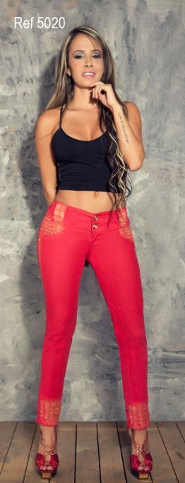 Jeans levantacola Deseo