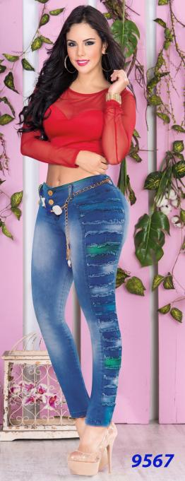Pantalon  Levata cola Colombiano