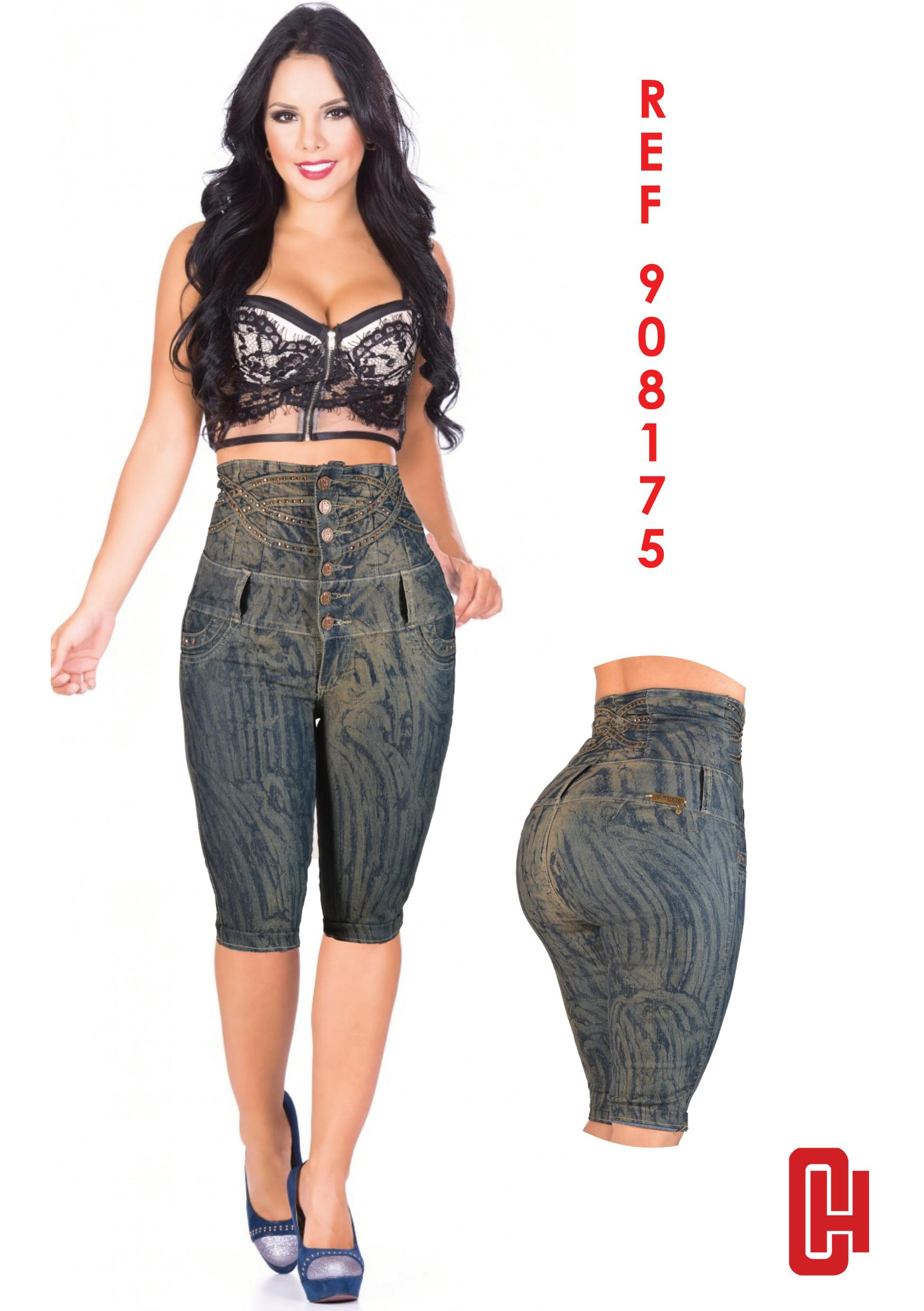 Cheviotto's high-waisted jean