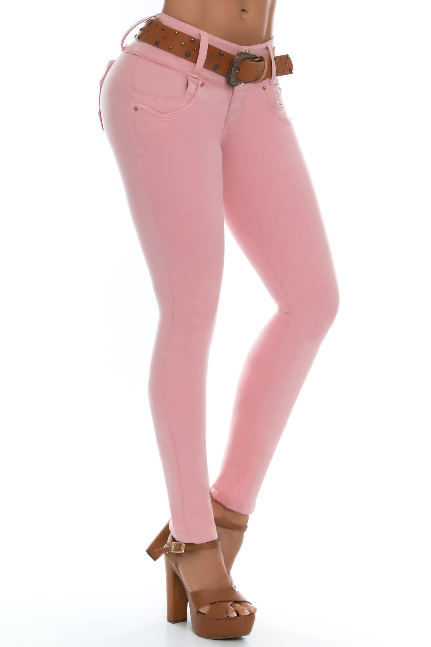 Jean de moda levantacola