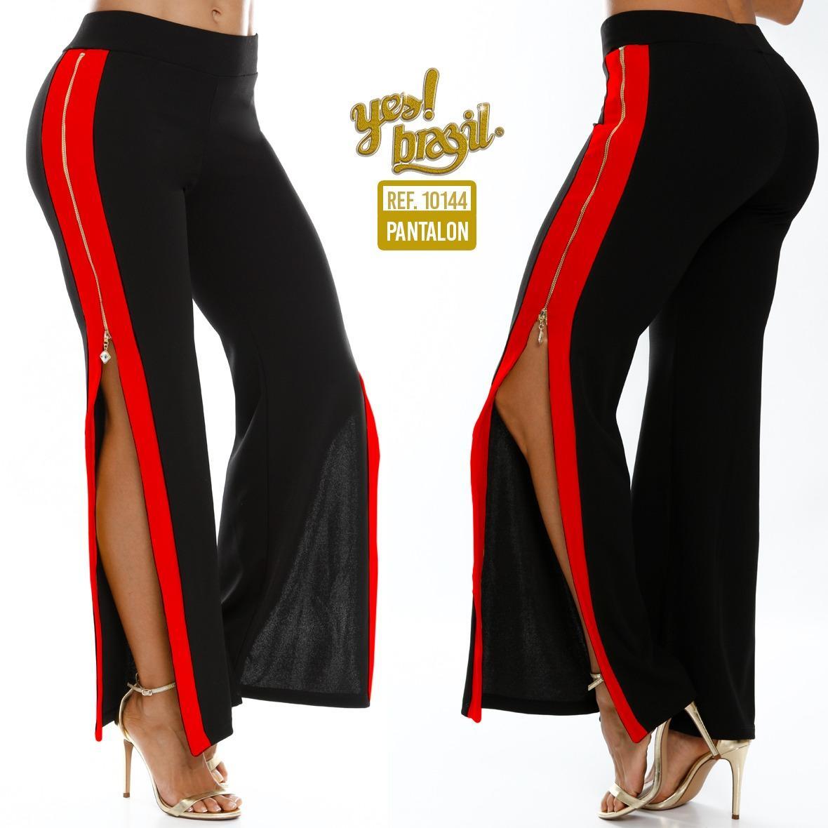 Sexy Pantalon de Dama con abertura lateral