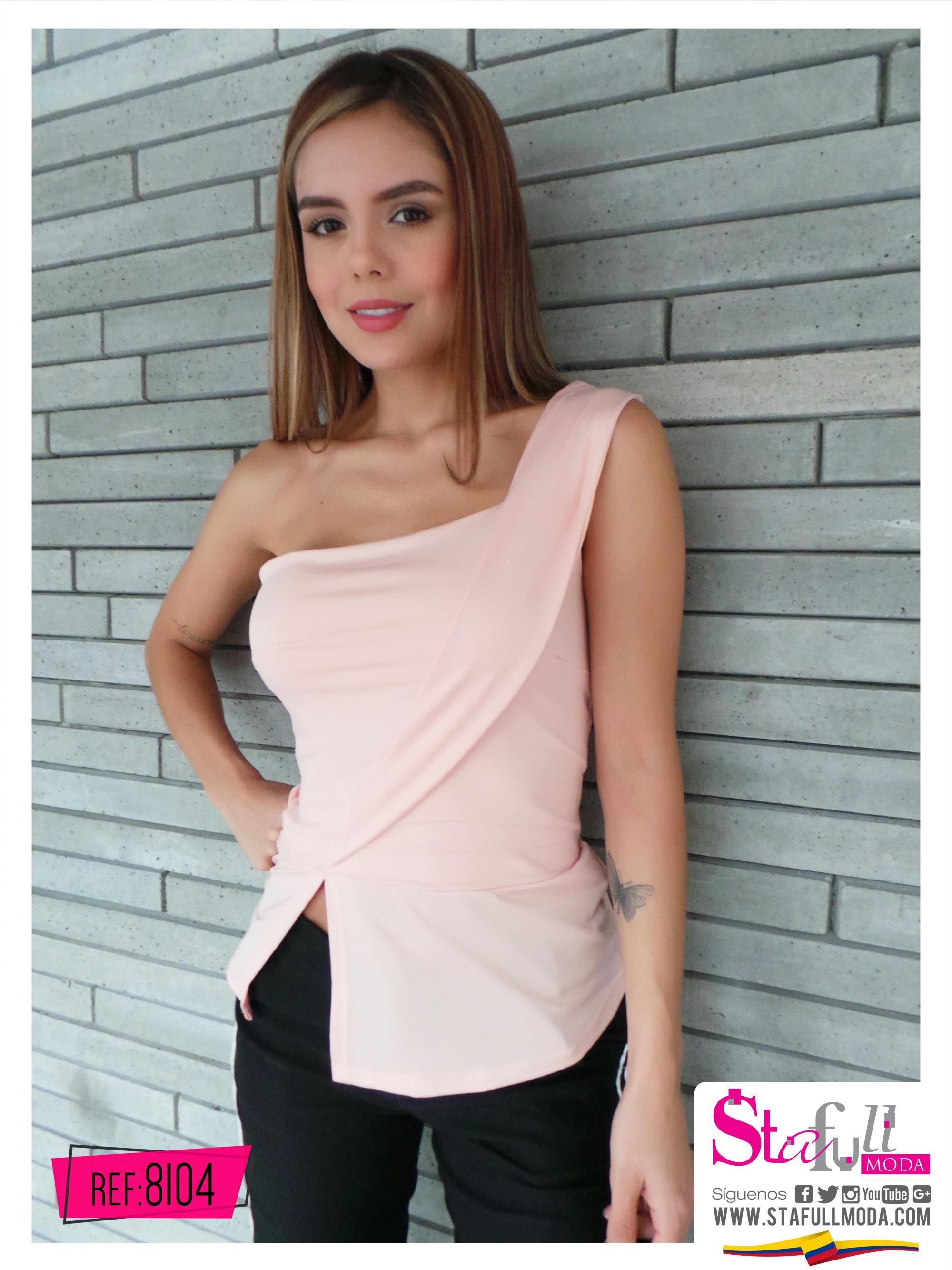 Hermosa Blusa Colombiana Manga corta hombro descubierto