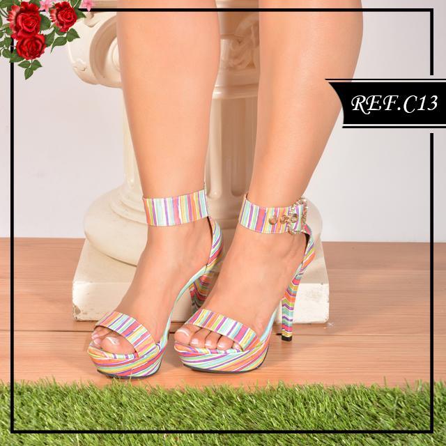 Zapatos de moda Colombianos con tiras