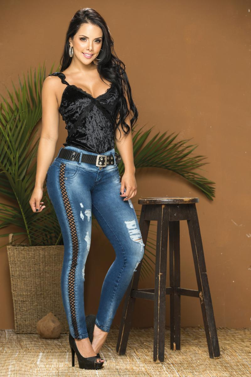 Colombian Jeans Jeans Stylizer with pockets
