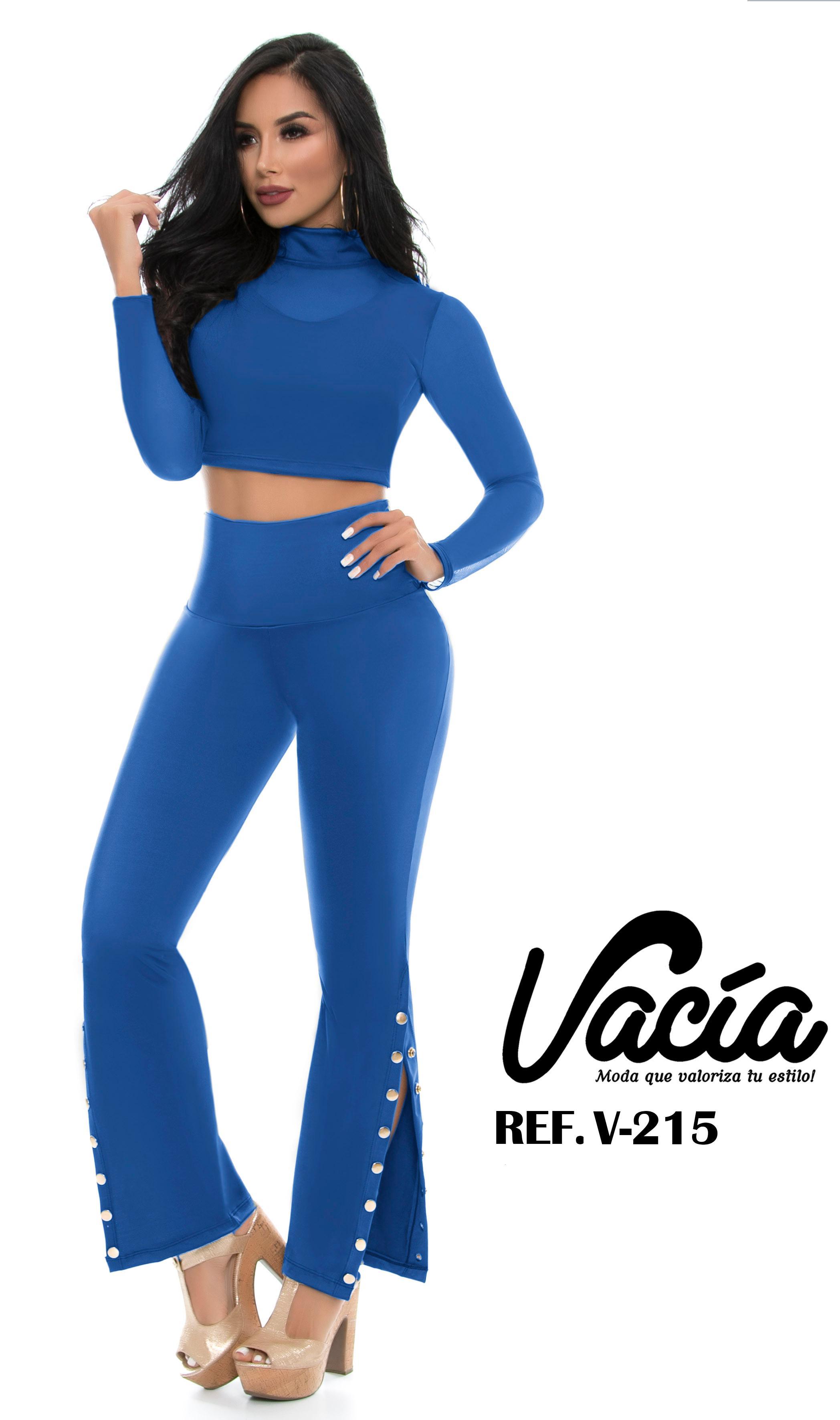 Conjunto Colombiano Pantalon Largo de Moda