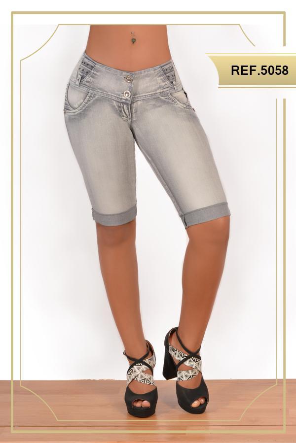 Pantalon Capri Levanta cola Colombiano