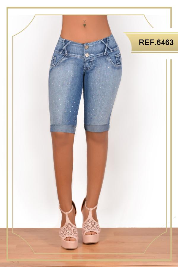 Sparkle Capri Jeans
