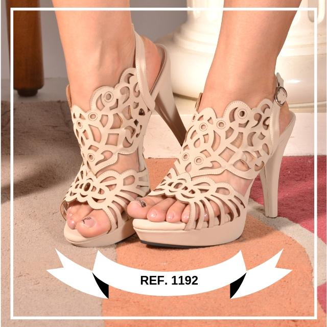 Heeled Shoes with Beautiful Design
