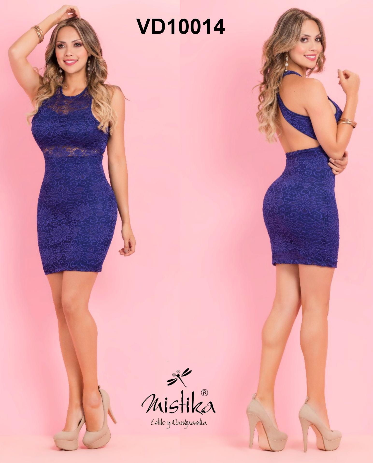 Short Colombian dress ideal for parties and seasonal meetings