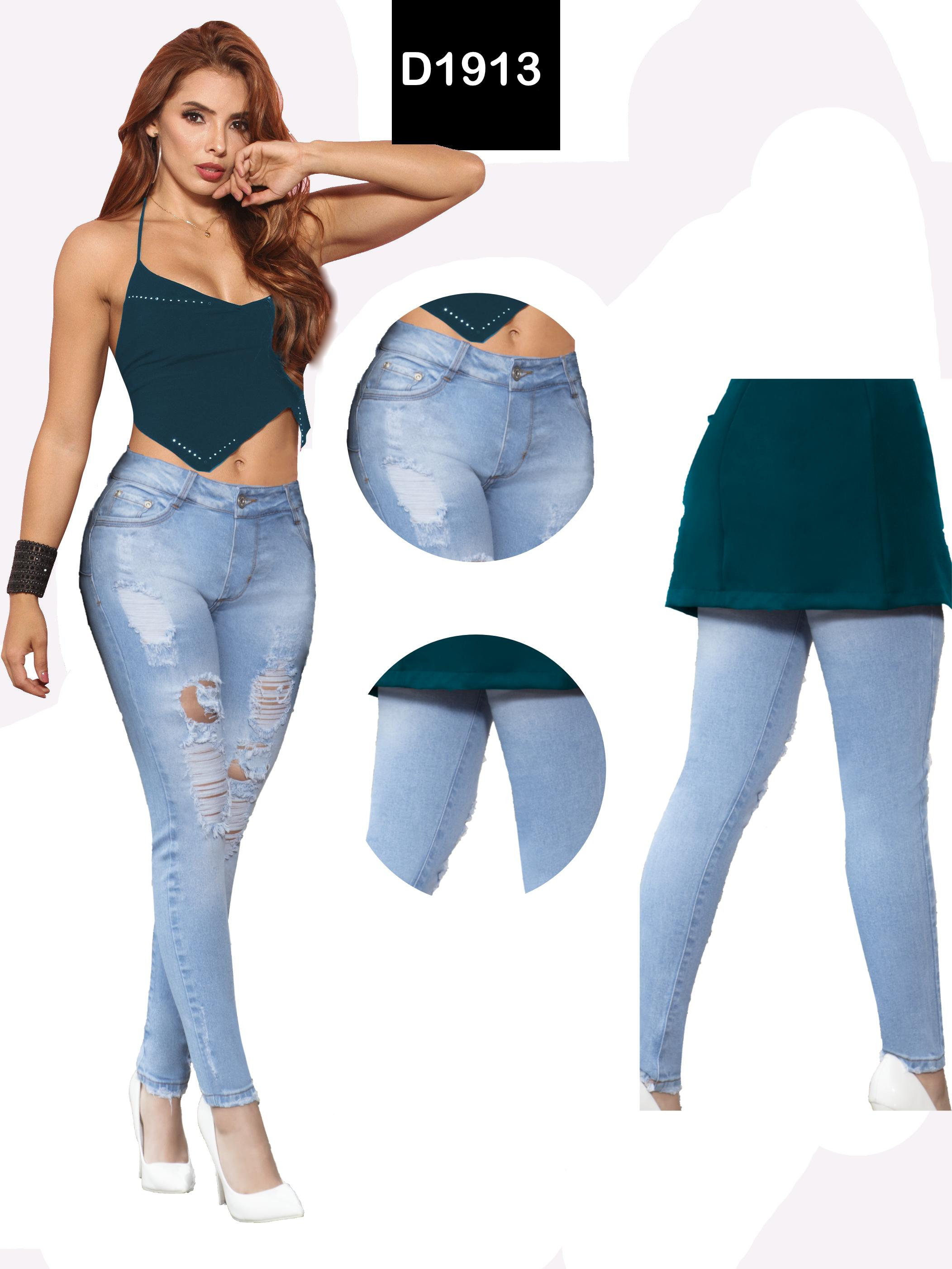 Colombian Jean Raises Fashion Tail With Destroyer Wear