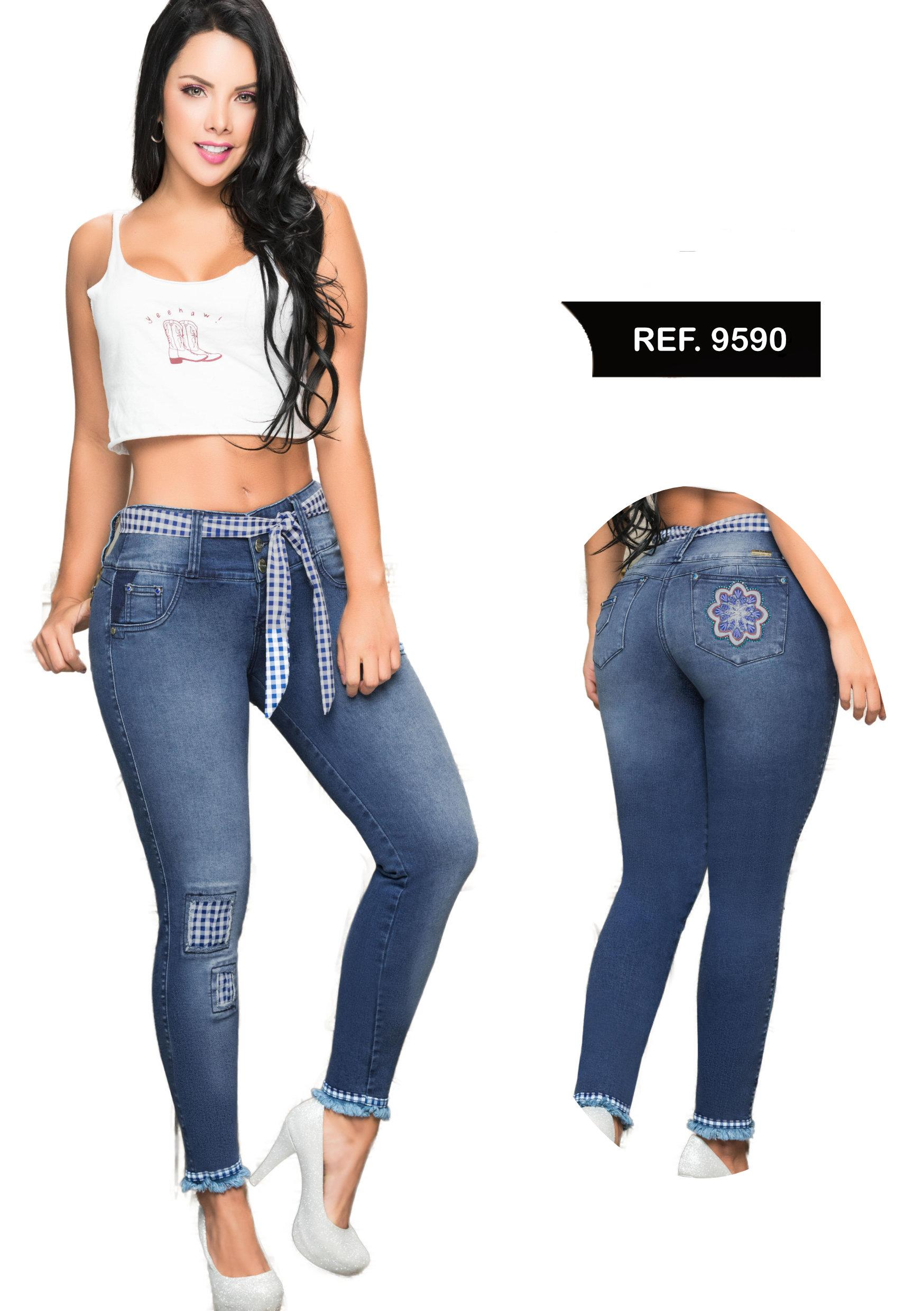 COLOMBIAN JEAN PUSH UP