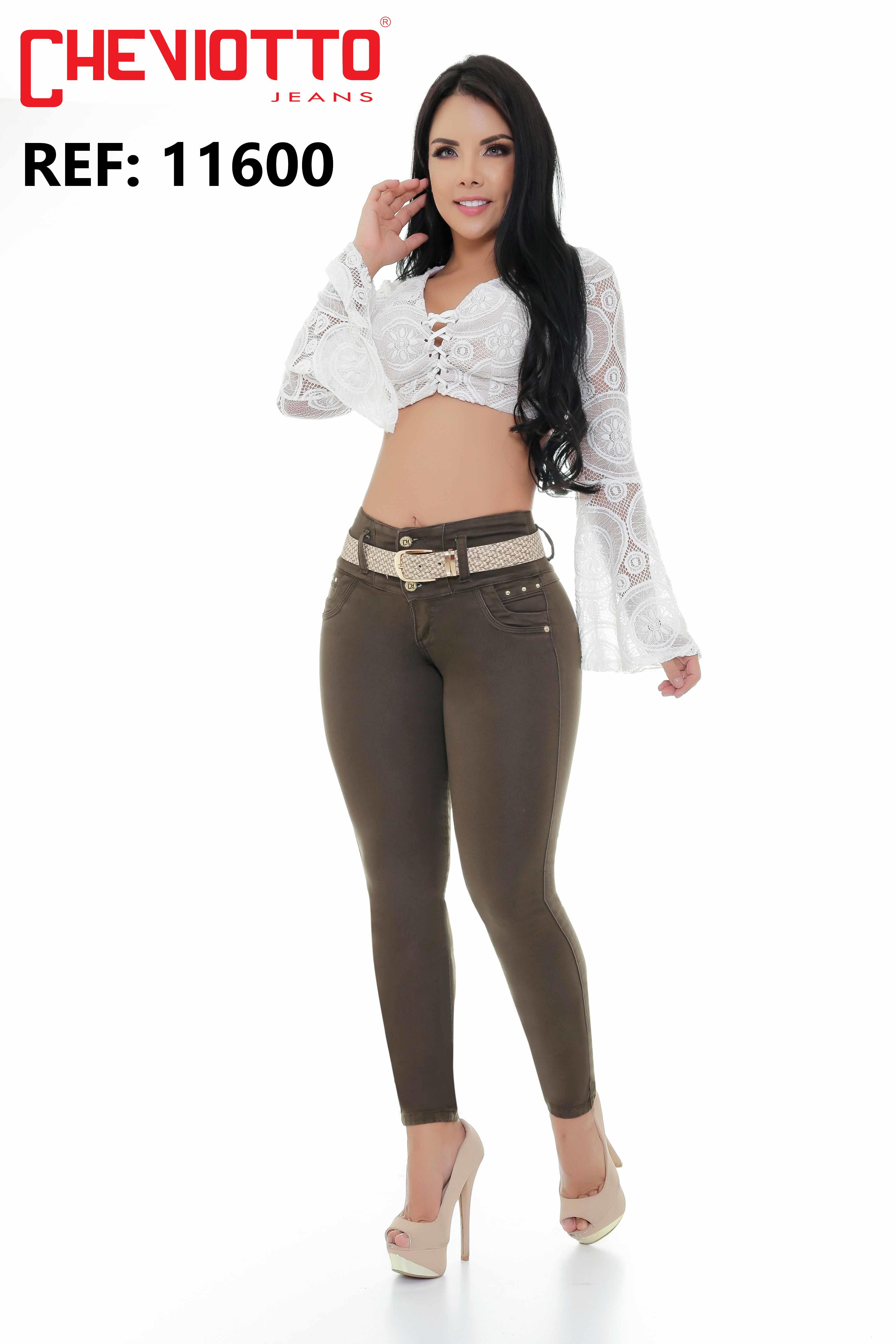 Colombian jeans lady