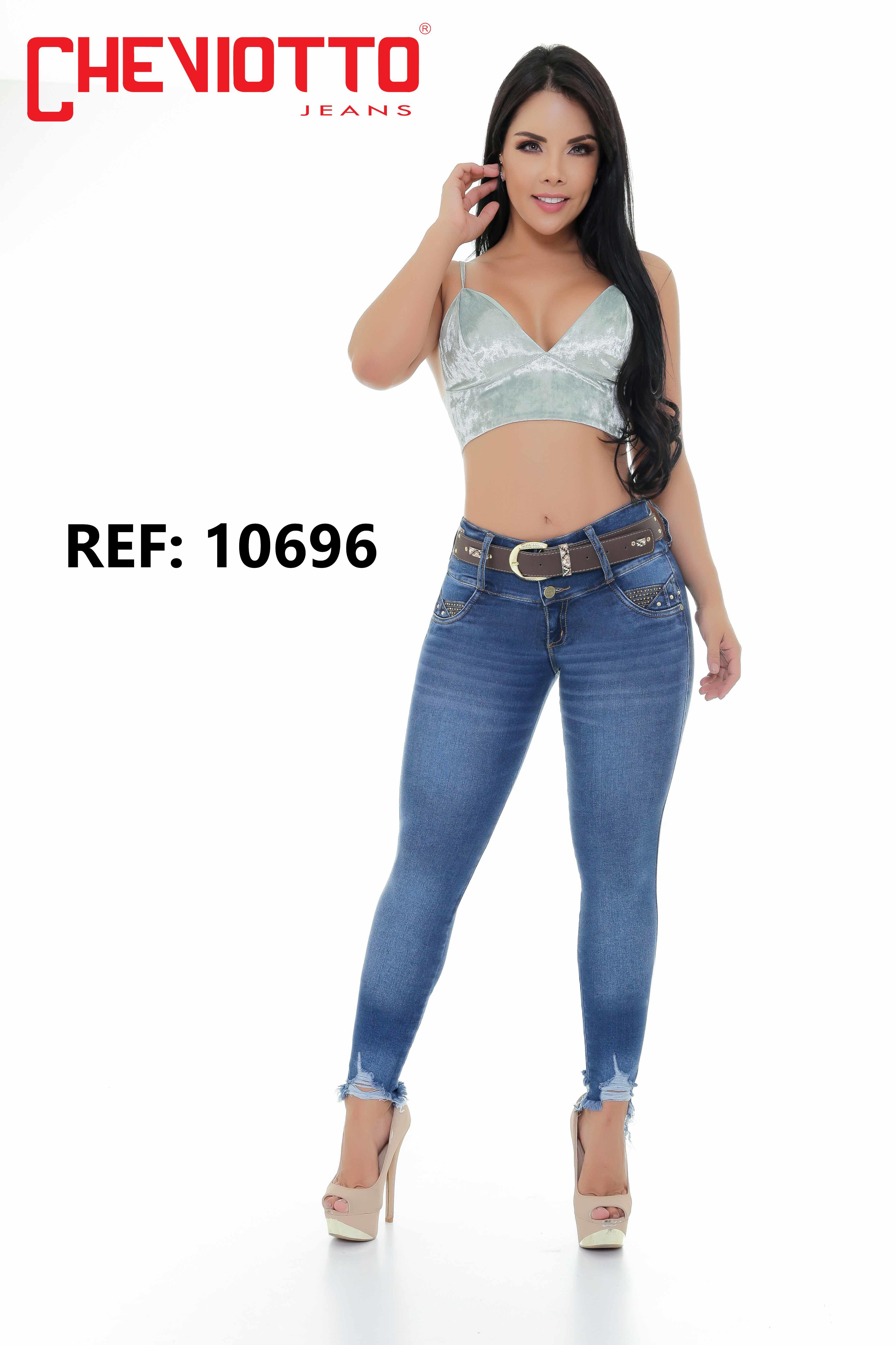 Colombian jeans stylized