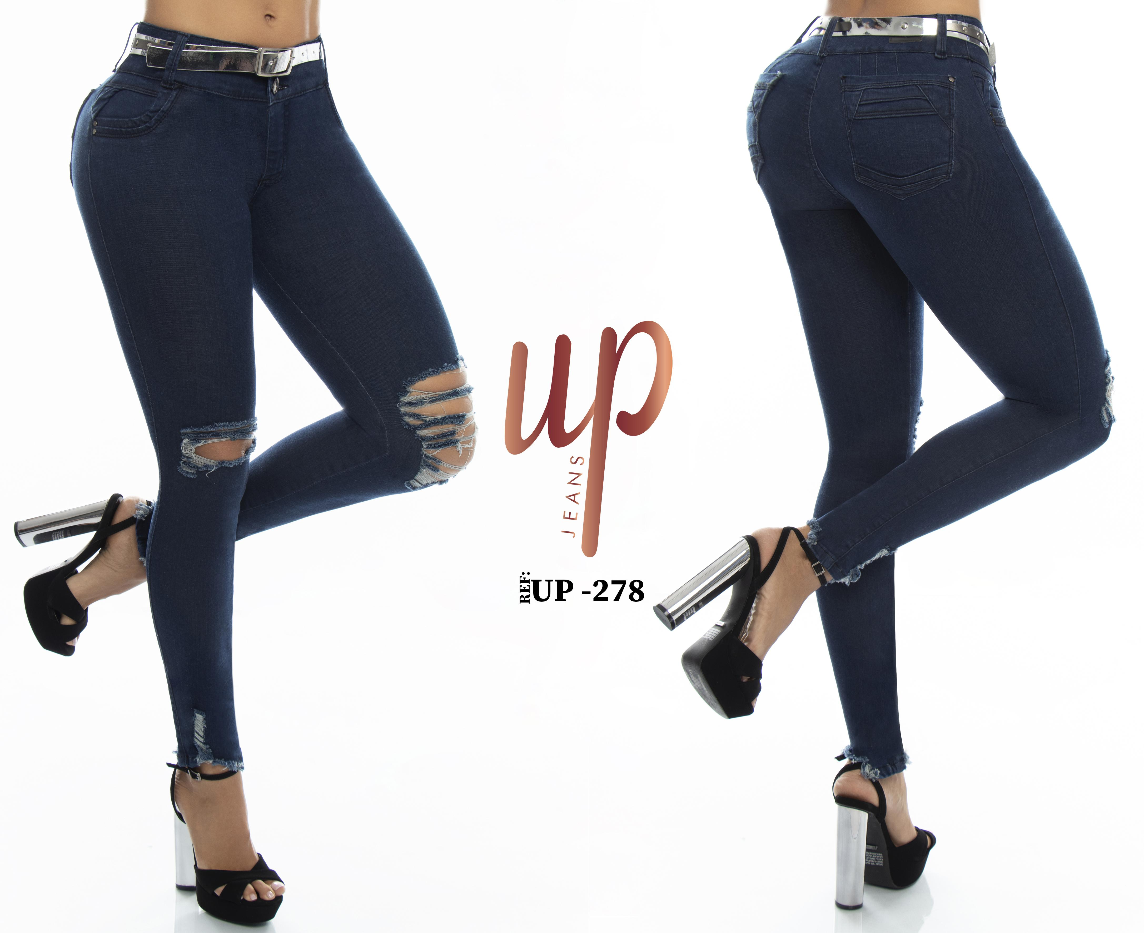 Push Up Jeans Fashion Colombian perfect horma