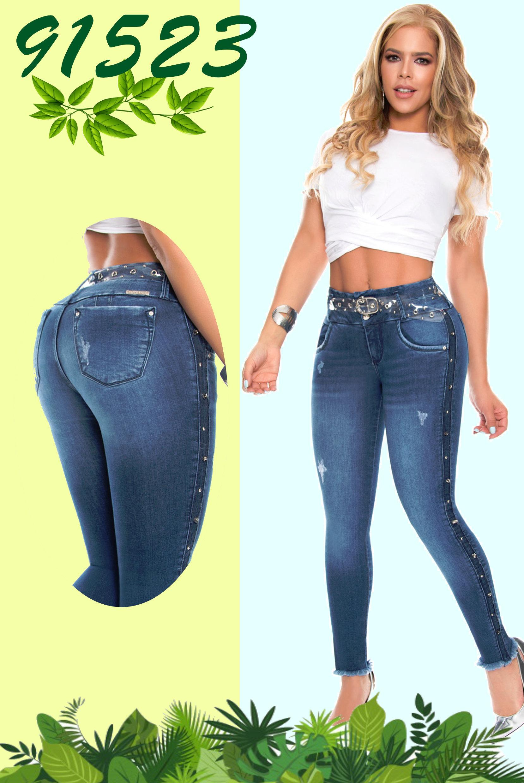 Pantalona de Dama Colombiano Levantacola diseño exclusivo