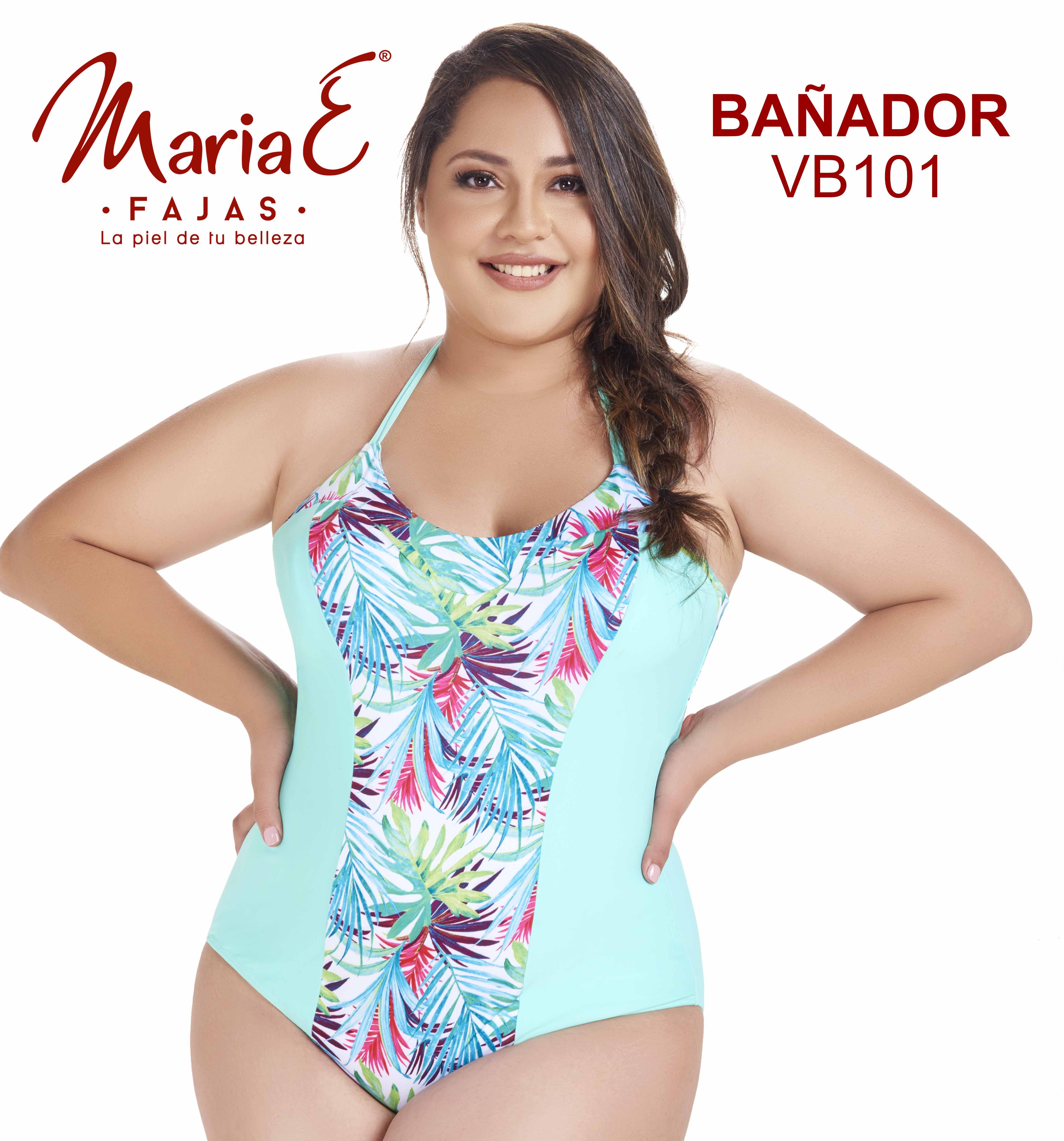 Vestido de Baño Colombiano Con Faja interna, Reduce y Moldea tu figura