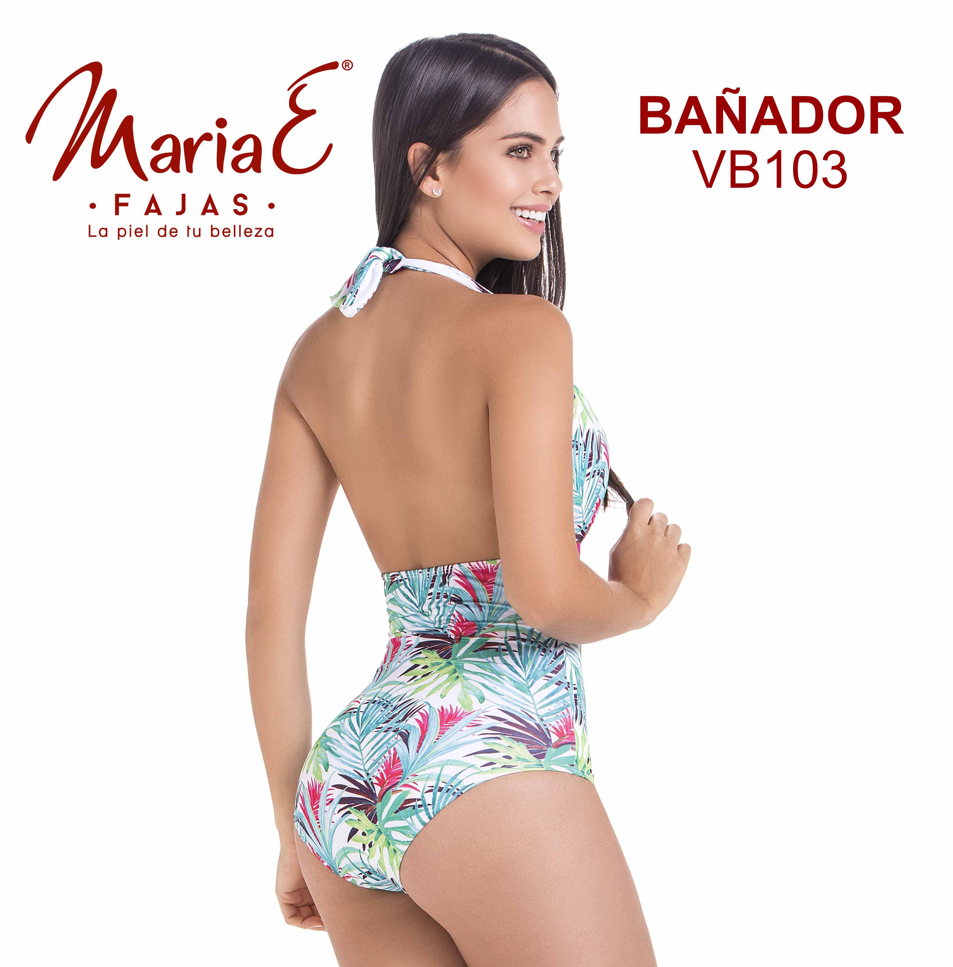 Vestido de Baño Con Faja Incluida, Control de Abdomen y Horma Perfecta