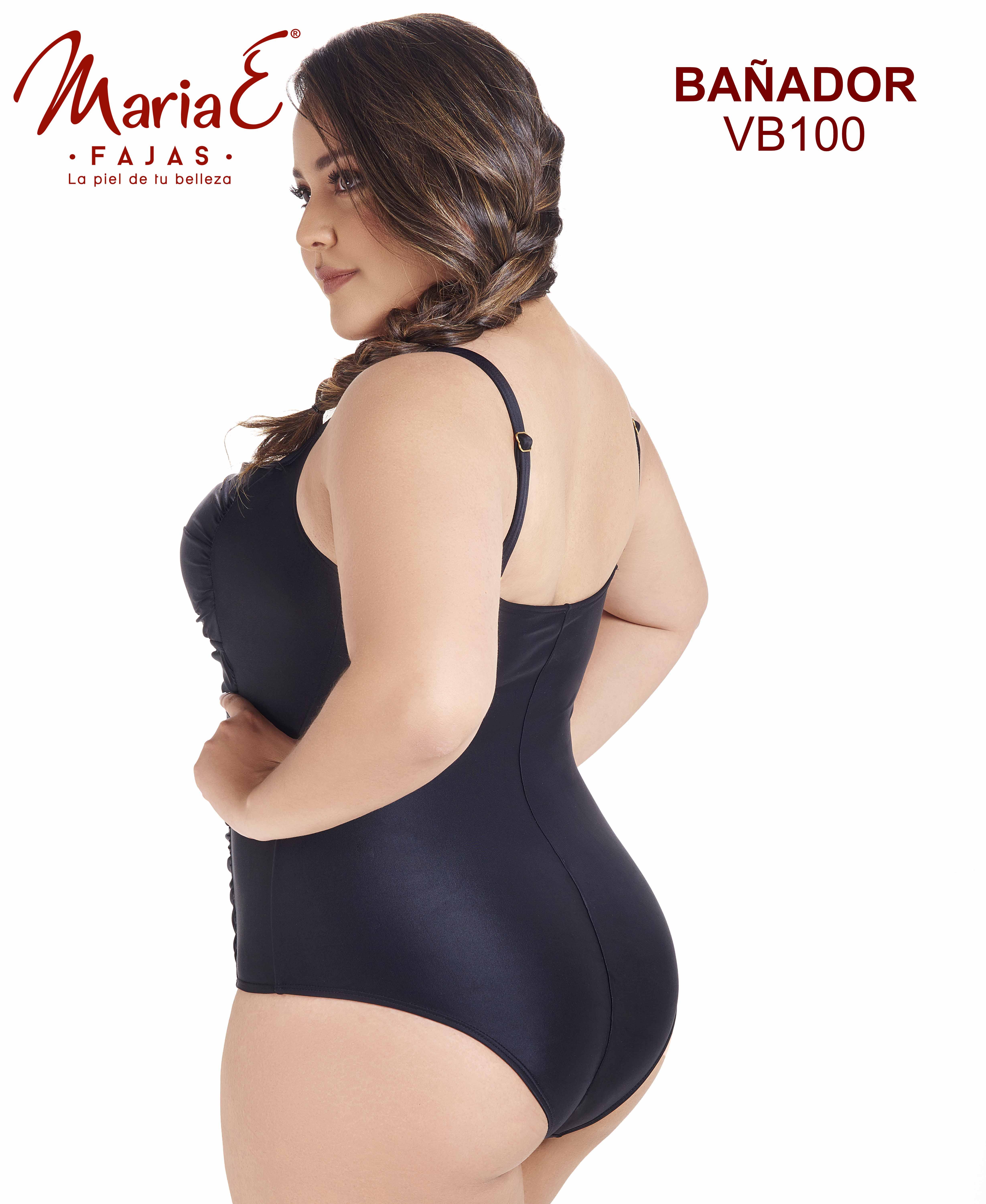 Vestido de Baño Con Control de Abdomen y Faja Interna