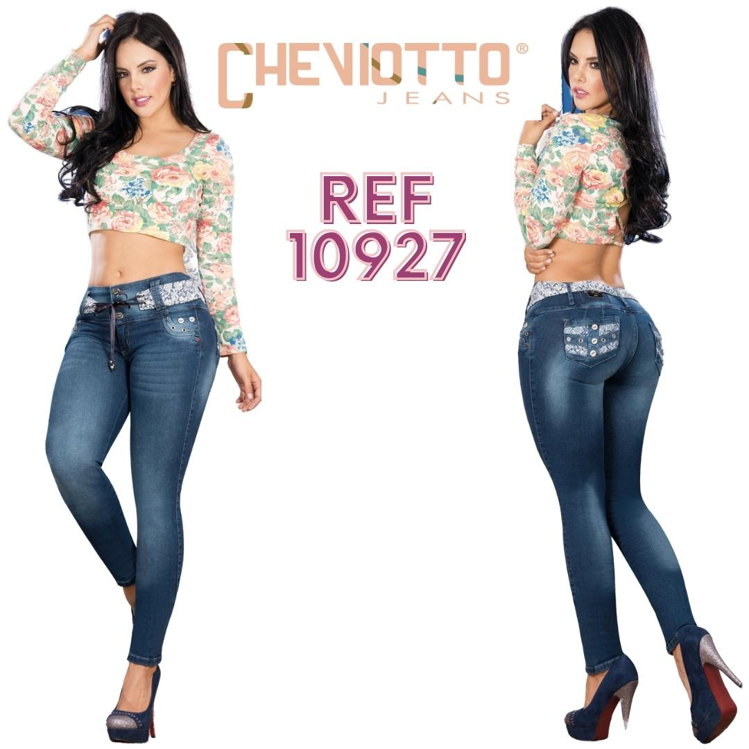 Colombian jean lift with pockets
