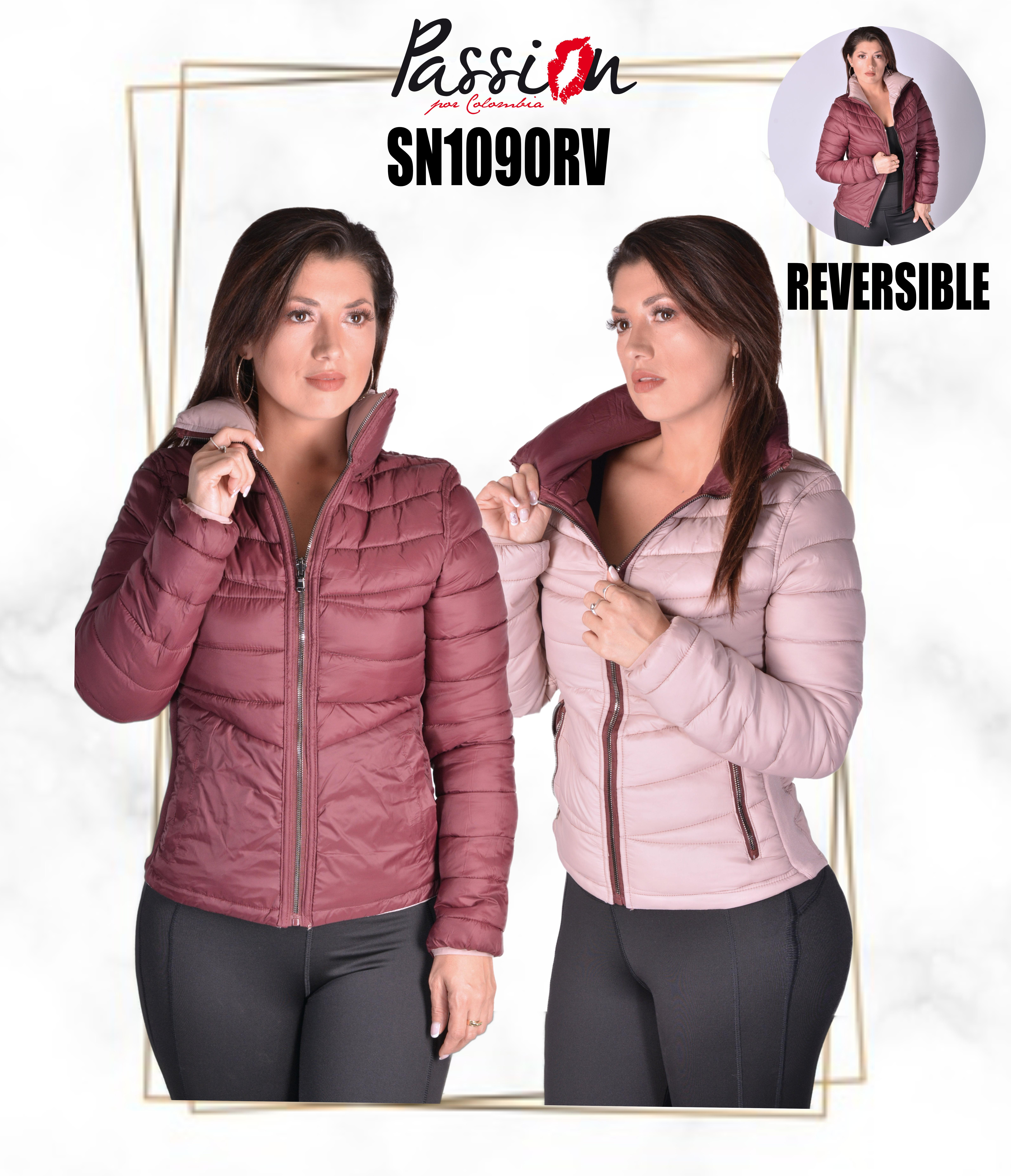 American Season Jacket with High Collar without Cap
