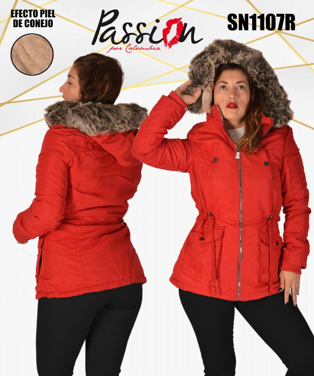 American Jacket Polar Hat with Zip and Pockets Red