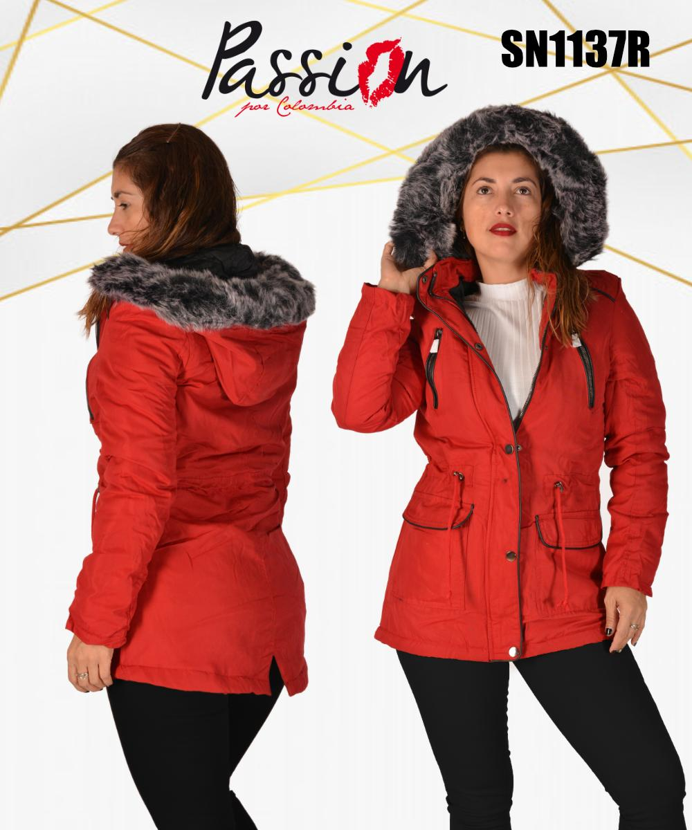 American style jacket hooded winter