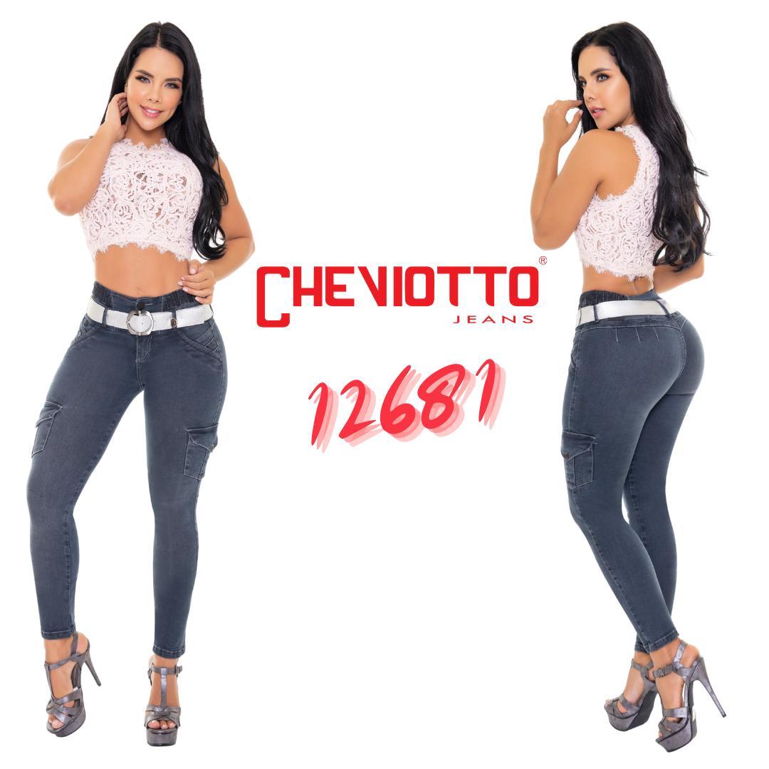 Jeans push up original Colombian