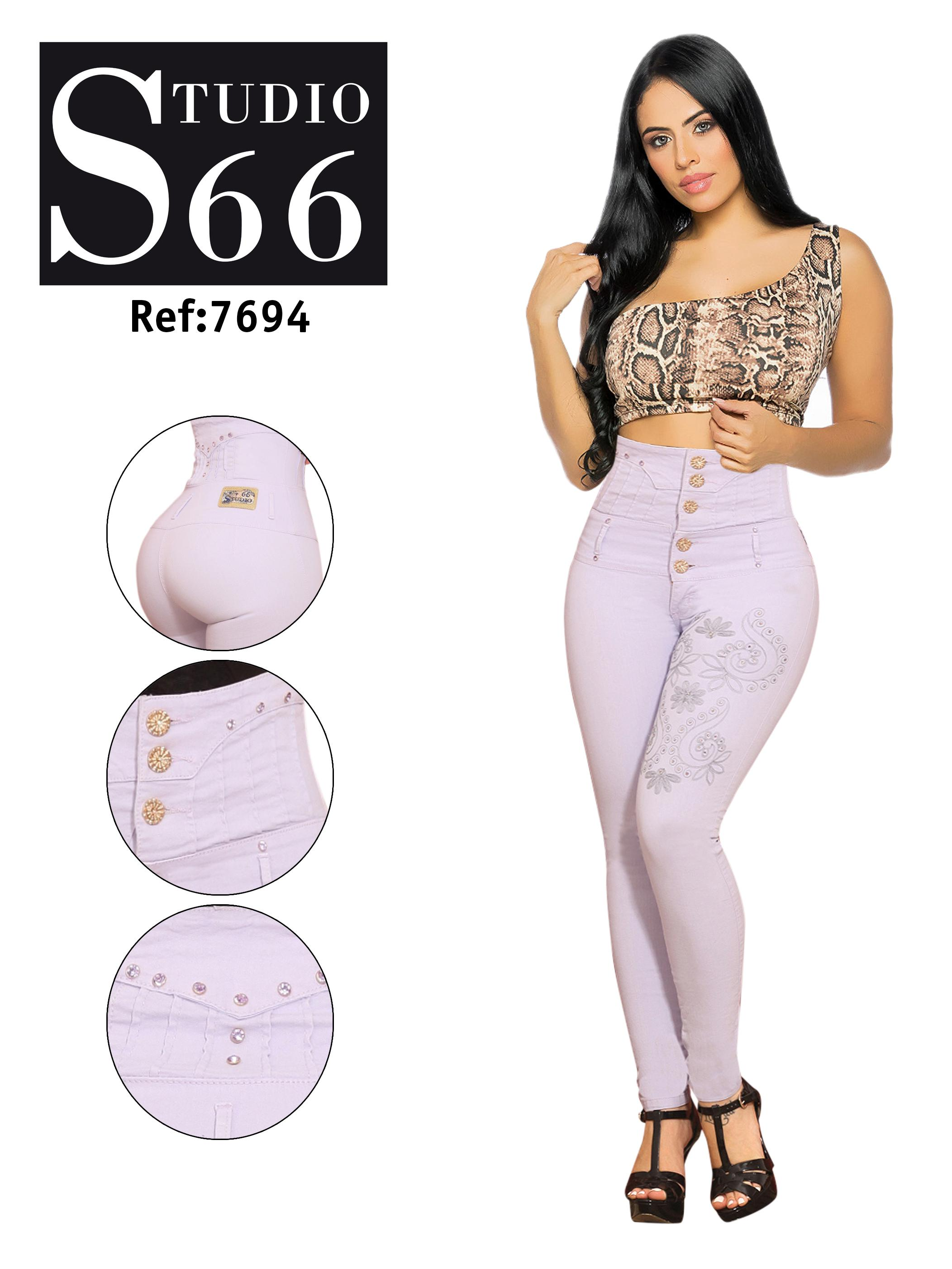 Exclusive Style Ribs Jean