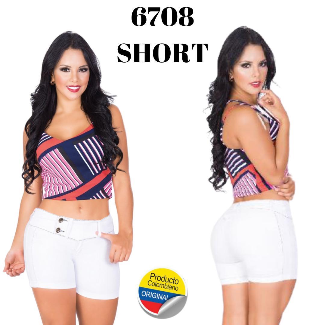 Short levanta cola colombiano