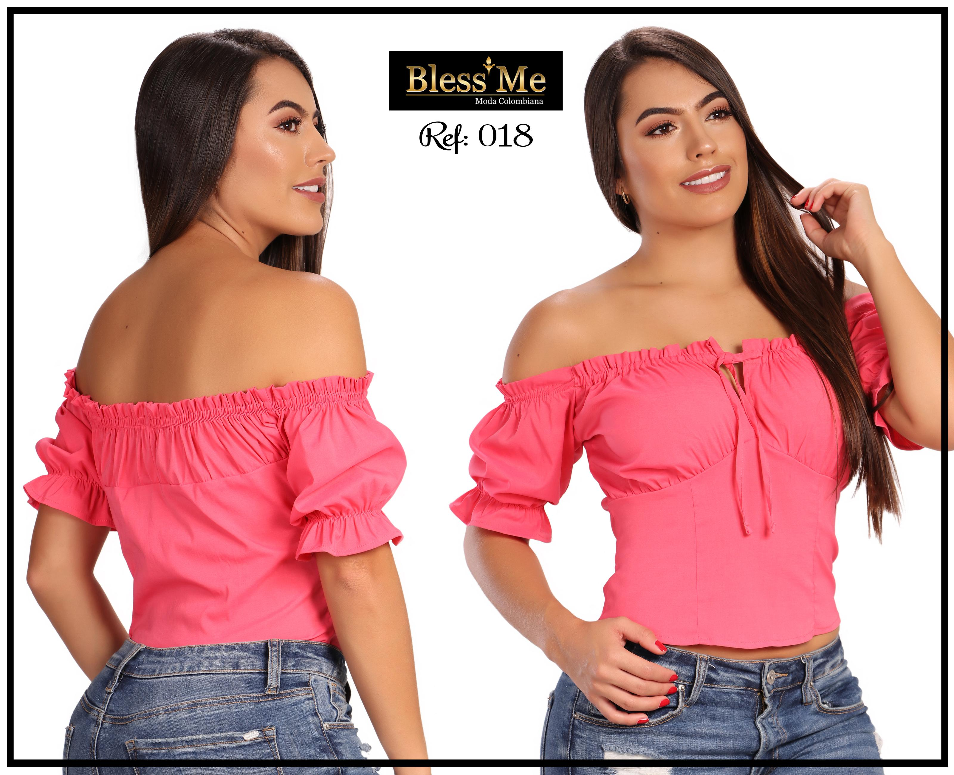 Colombian fashion blouses