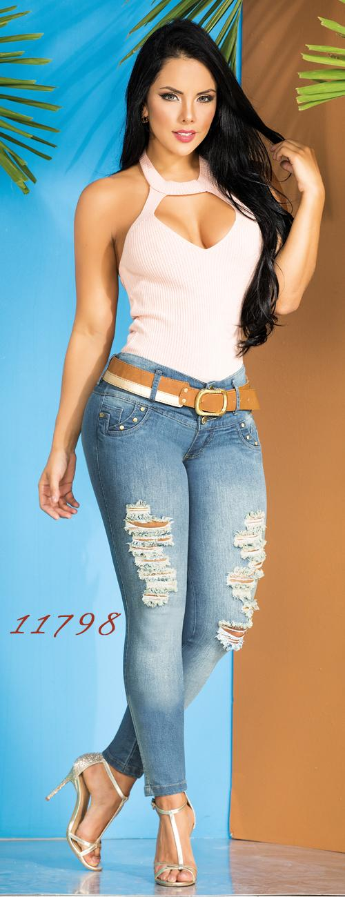 Jeans con Bolsillos