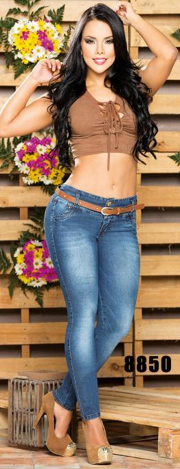 Jeans Levantacola Cheviotto