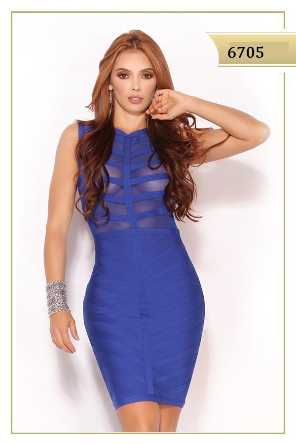 Vestidos - Color Azul