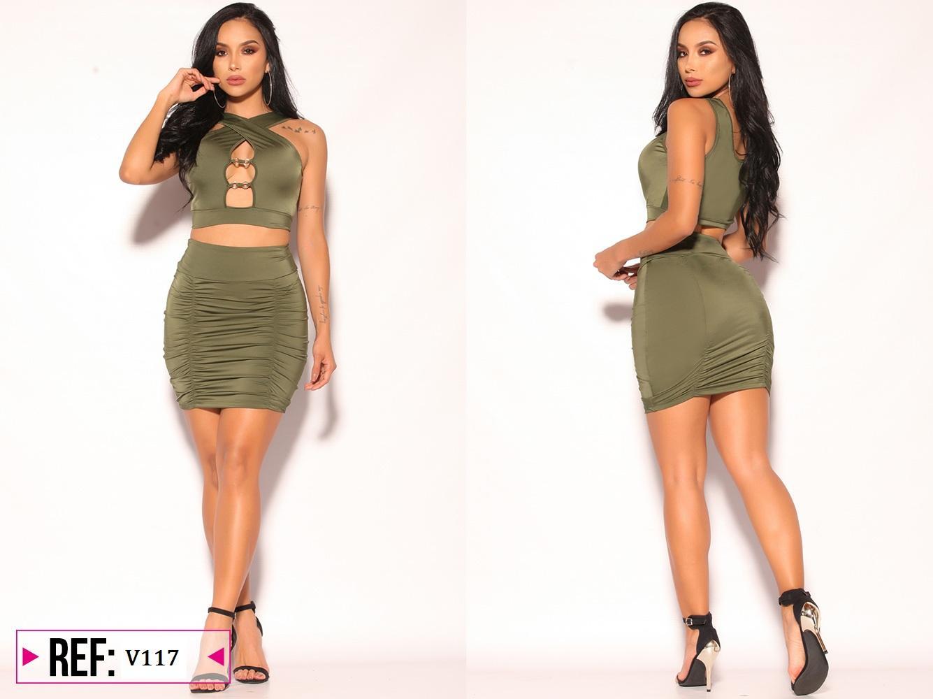 Conjunto minifalda