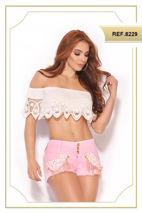 Short de moda Colombiano