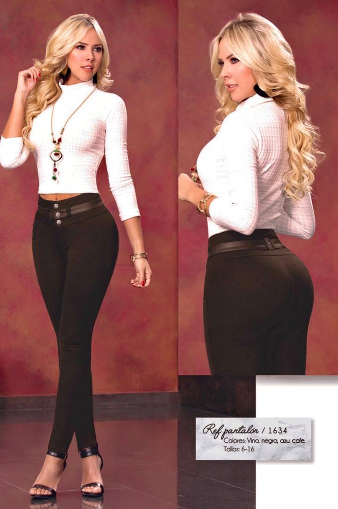 Jeggings for Colombian Lady Abdomen Control