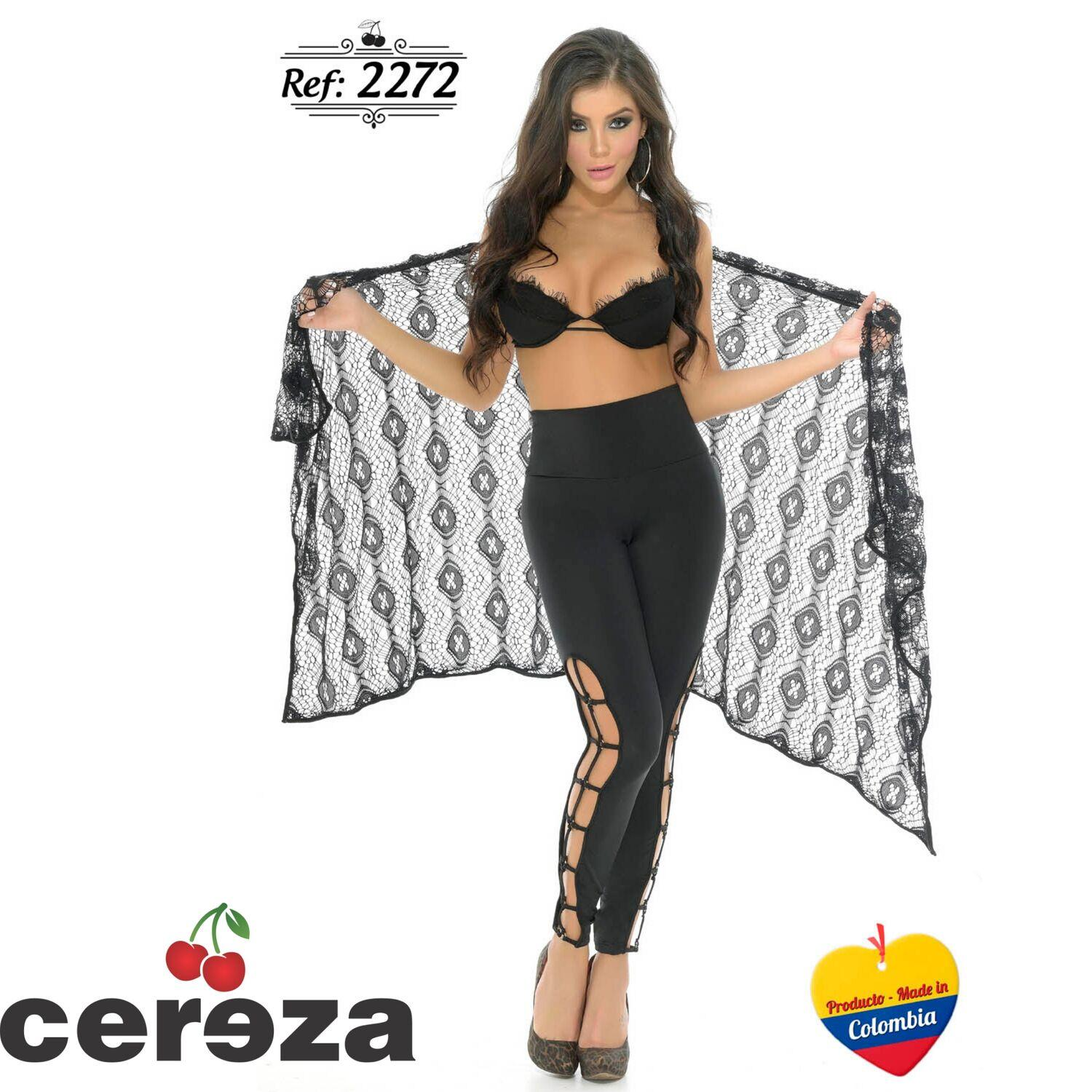 Colombian Leggings Cereza