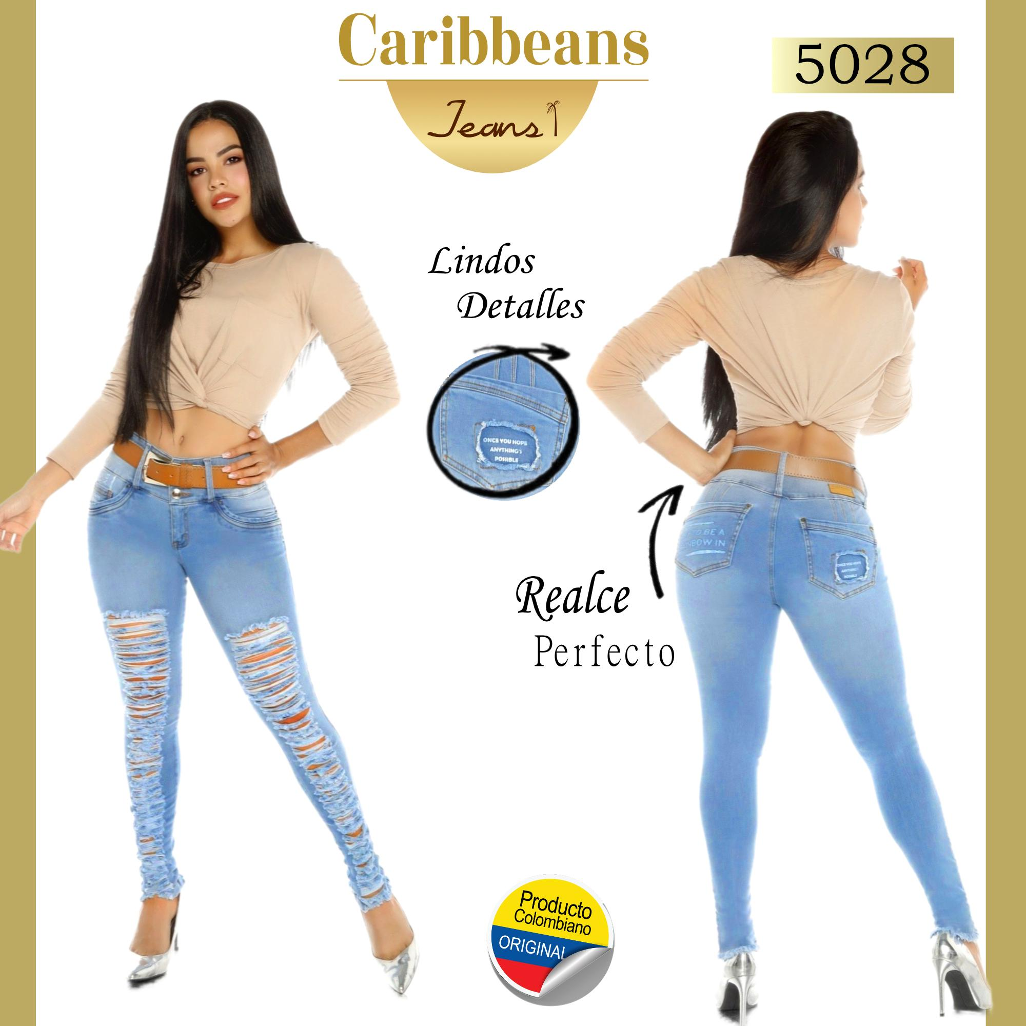Jean Push up Colombiano