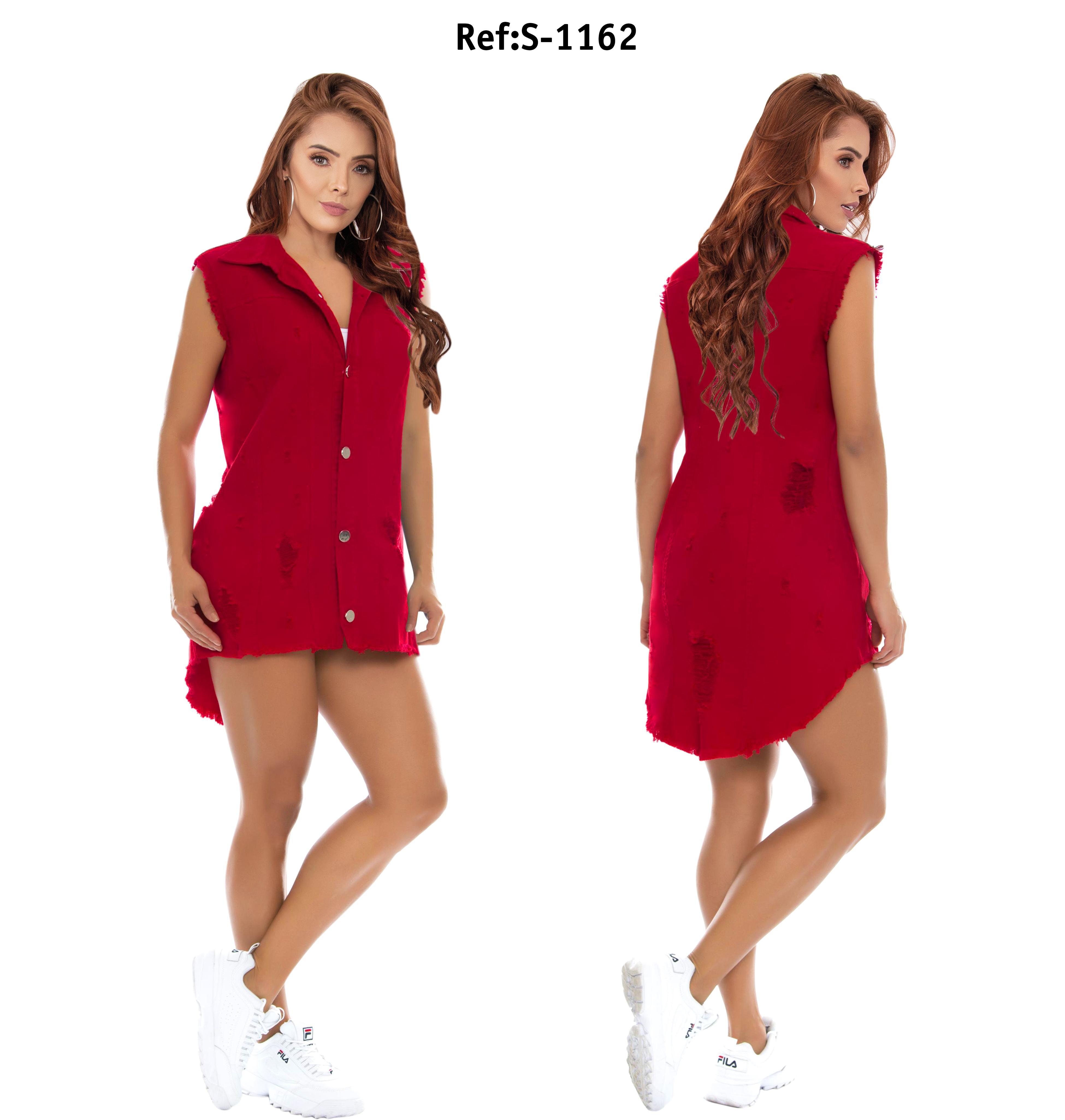 Vestido De Jean Colombiano de Moda