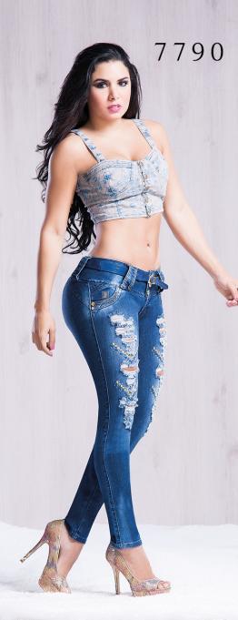 Pantalones de Lujo Al Estilo Colombiano