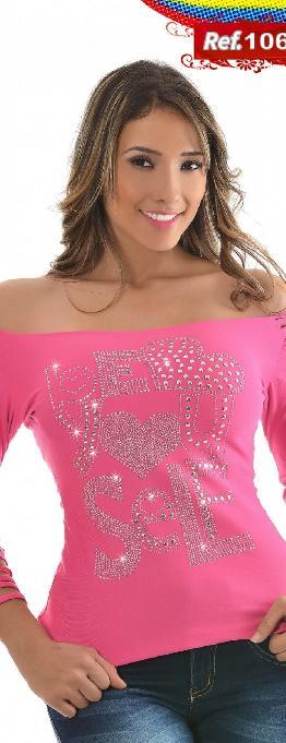 Blusa Sexy Dama